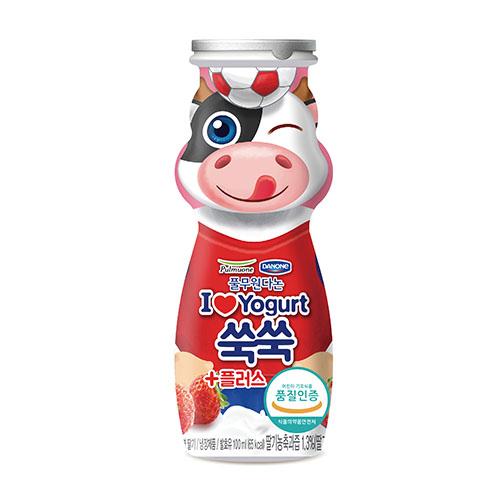 아이러브요거트 쑥쑥 플러스_딸기